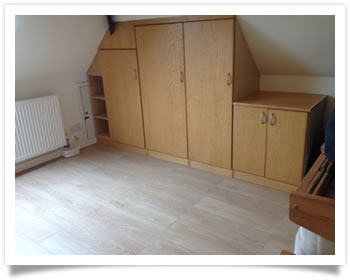 Fitting bedroom furniture in Ruddington