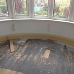 fitting a curved skirting board