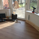 finishing a curved skirting board
